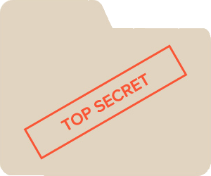 Topsecret badge
